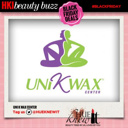 Black Friday Beauty Deal: Uni K Wax Center