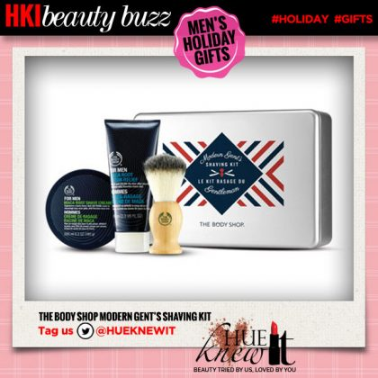Holiday Gift Ideas For Him: The Body Shop Shave Kit