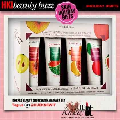 Holiday Skin Care Sets: Korres Beauty