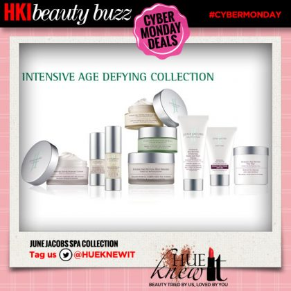 Cyber Monday Beauty Deal: June Jacobs Spa Collection