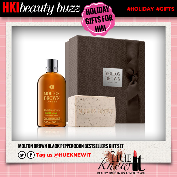 For Him This Holiday: A Molton Brown Gift Set