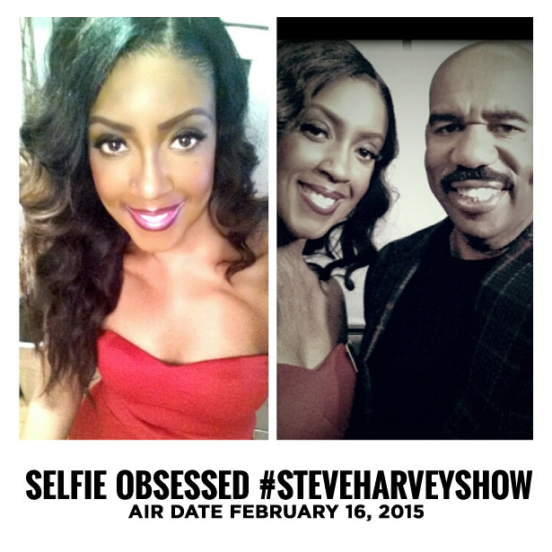 Selfie Obsessed: My Appearance on The Steve Harvey Show