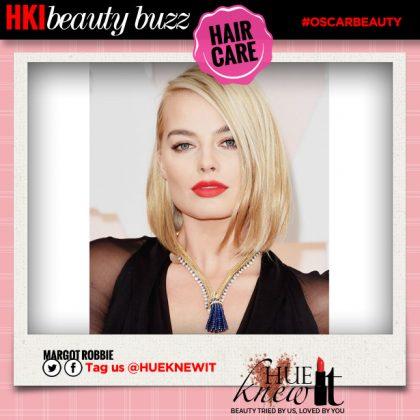 Oscars Red Carpet Hair: Margot Robbie