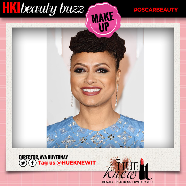 Oscars Red Carpet Beauty Looks: Ava Duvernay