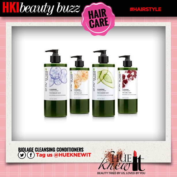 Matrix Does Co-Washing Hair Products!