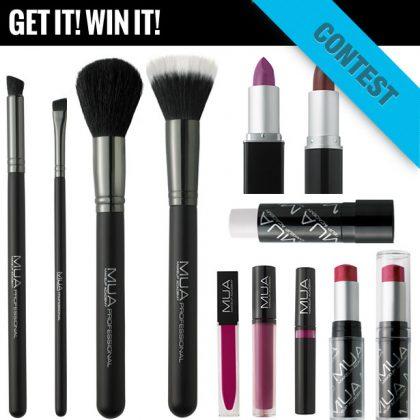 MUA (Makeup Academy) Giveaway!
