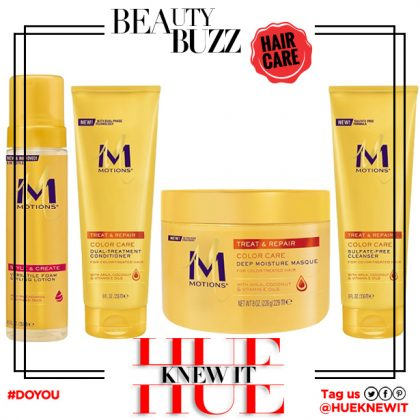 Motions Hair Care Products Gets An Upgrade