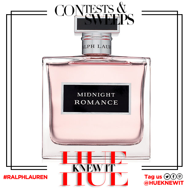 GIVEAWAY: Midnight Romance Fragrance by Ralph Lauren