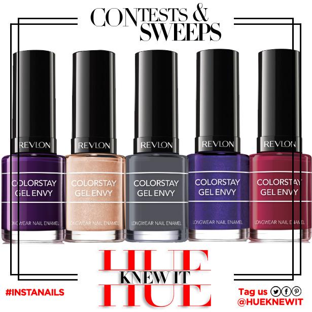 GIVEAWAY: Revlon ColorStay Gel Envy Nail Enamel