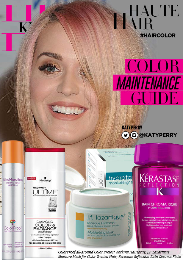 Get Healthy Color Treated Hair Like Katy Perry