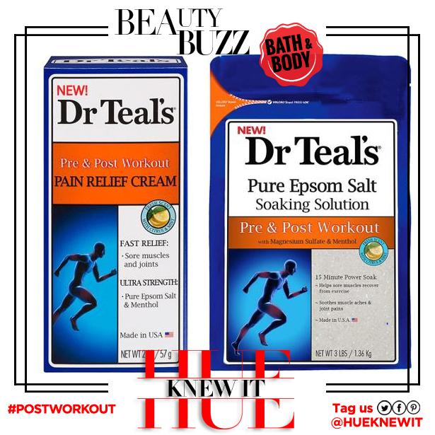 hueknewit BREAKING NEWS dr. teals post workout