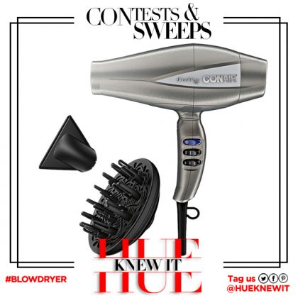 GIVEAWAY: Infiniti Pro by Conair 3Q Hair Dryer