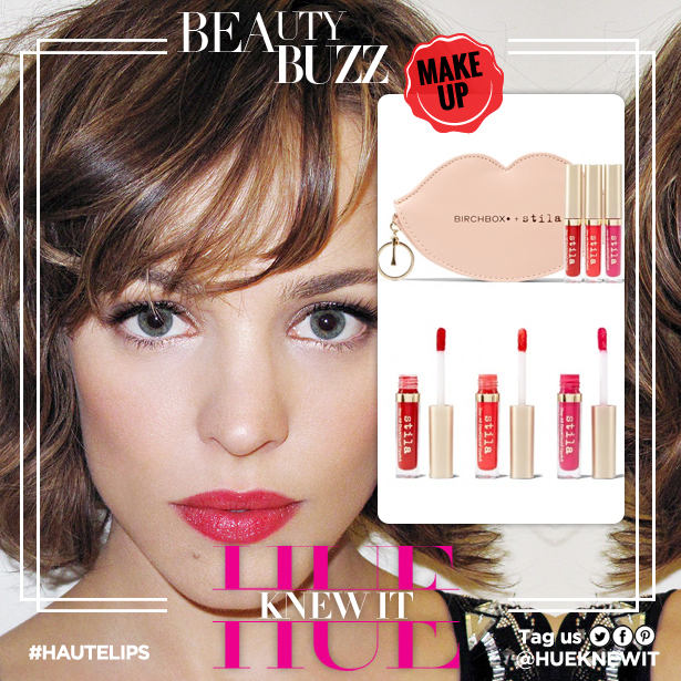 "Why Long Lasting Lip Color Is A Rachel McAdams ""Do"""