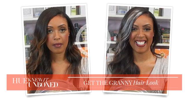 HueKnewIt Unboxed: Get the Granny Trend Hair Look