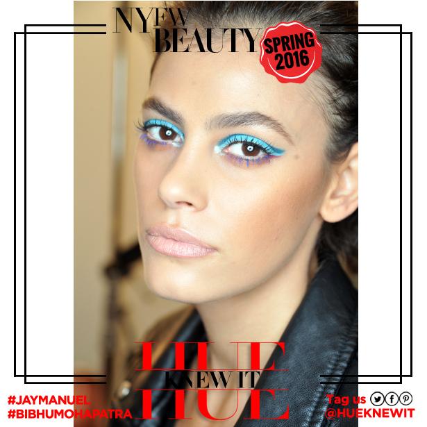 NYFW beauty spring 2016 jay manuel bibhu mohapatra