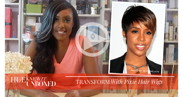 Get kelly Rowland's Funky Pixie Haircut