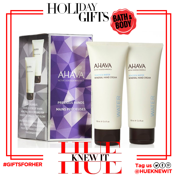 gifts for her: Ahava Precious Hands gift set