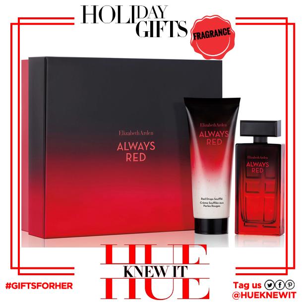 gifts for her:  Elizabeth Arden Always Red