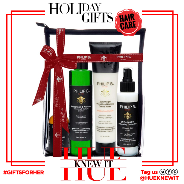 Gifts for her: Philip B 4 Step Hair Scalp Treatment