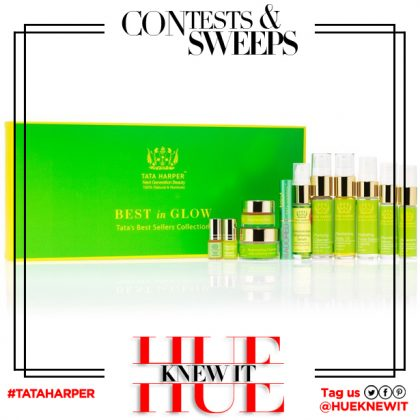 GIVEAWAY: Tata Harper Best in Glow Collection