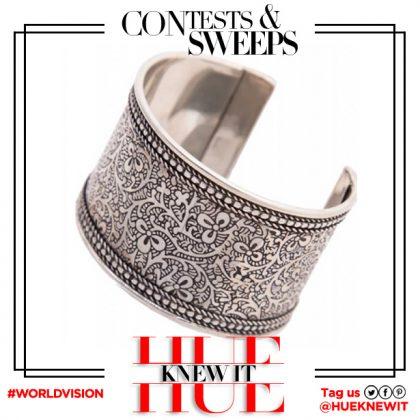 GIVEAWAY: Silver Vines Cuff Bracelet