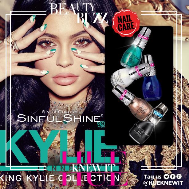 Kylie Jenner shares nail design ideas