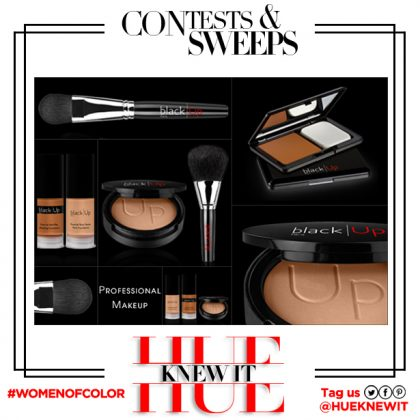GIVEAWAY: Black Up Cosmetics