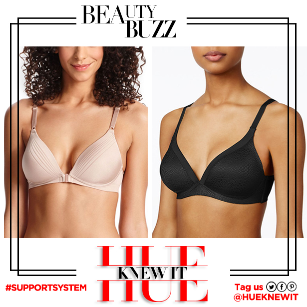 Warners wire-free no closure bra