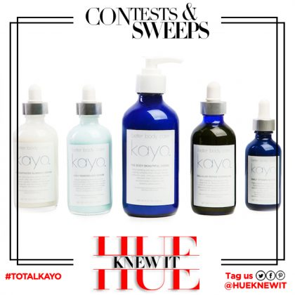 GIVEAWAY: KAYO Better Body Care