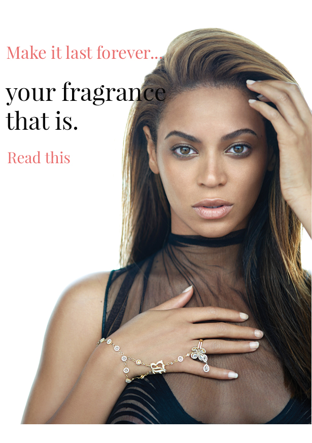 increase perfume staying power