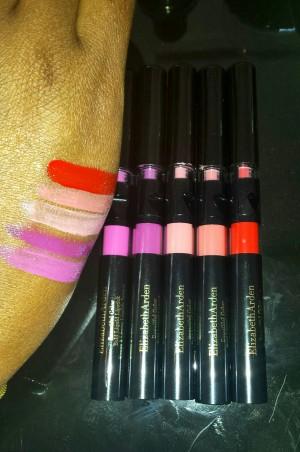 Elizabeth Arden Liquid Assets bold lipstick