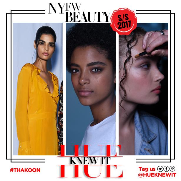 Thakoon SS '17 hair and beauty look