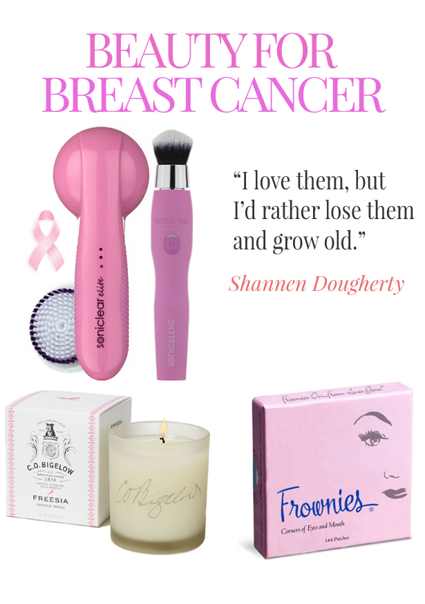 breast cancer beauty - Frownies, Michael Todd Beauty, C.O. Bigelow Apothecaries