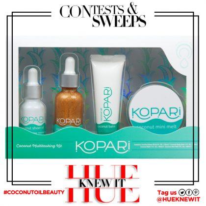 GIVEAWAY: Kopari Beauty Coconut Oil Multitasking Kit