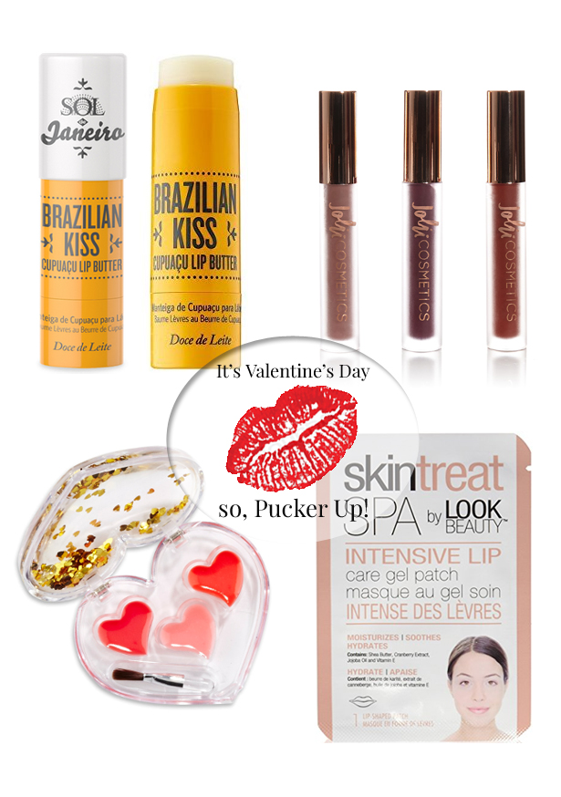 Your Guide To Valentine's Day Kissable Lips