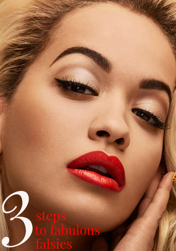 3 Steps To Fuller Fabulous Fake Eyelashes Without The Glue!