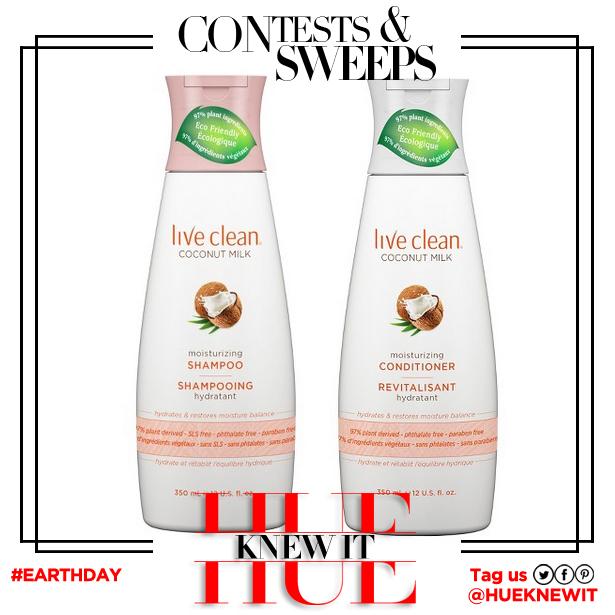 hueknewit giveaway live clean