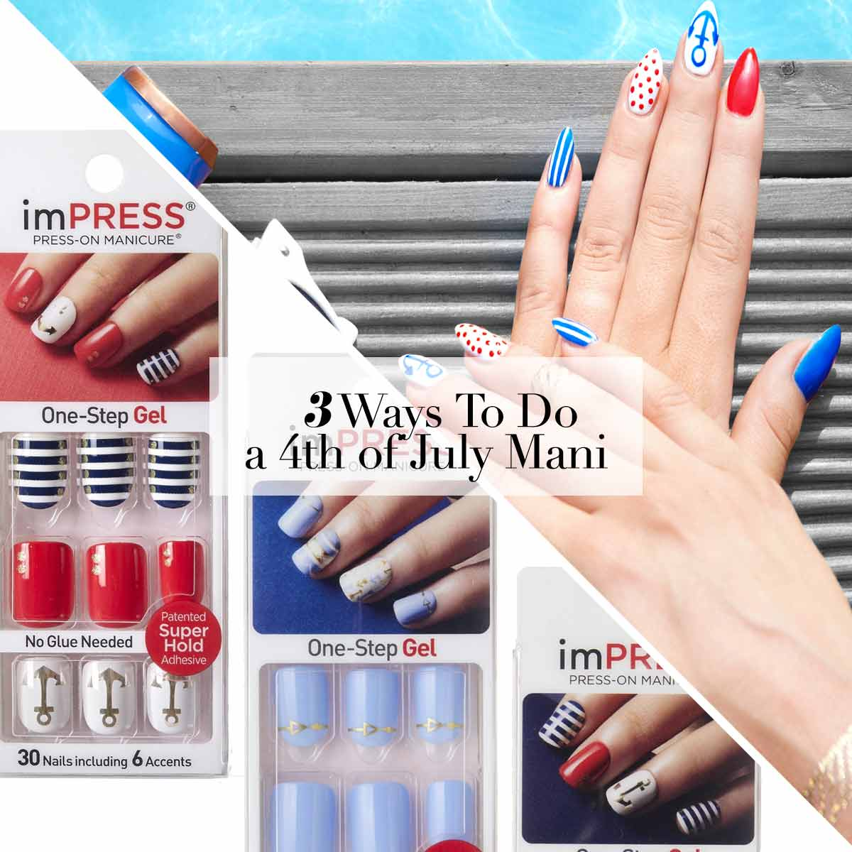 Do An Independent Mani This 4th of July!