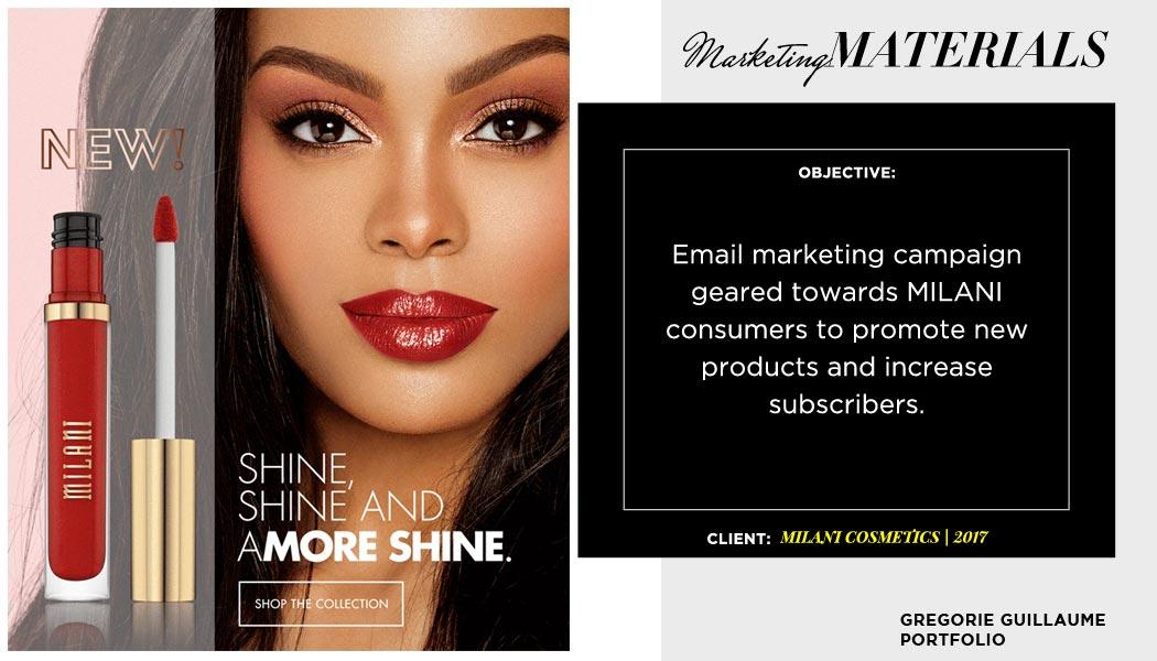 Milani-Amore-Shine-email-marketing
